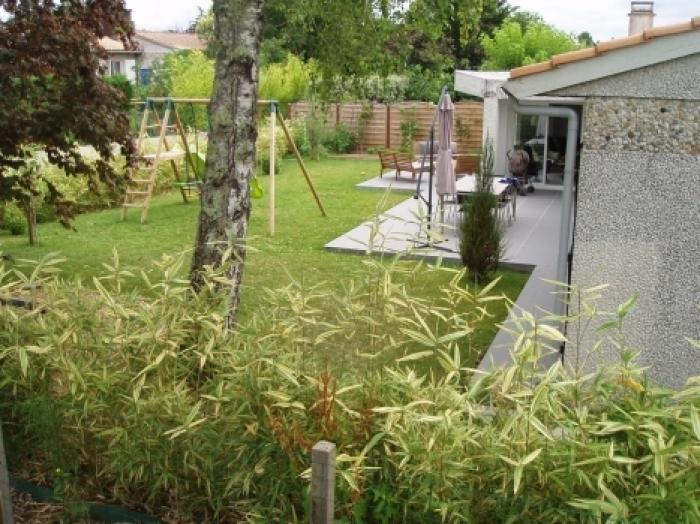 créer un jardin dans une maison de lotissement à coté de bordeaux